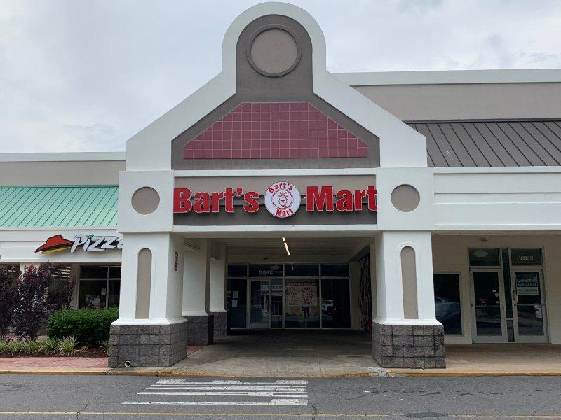 Channel Letter Sign for Bart's Mart of Charlotte