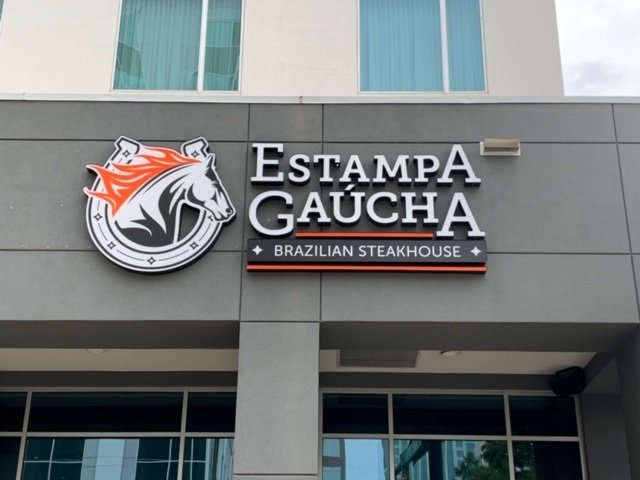 Estampa Gaucha of Charlotte - Custom Channel Letter Sign