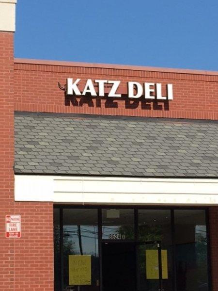 Katz Deli of Charlotte - Sign Photo