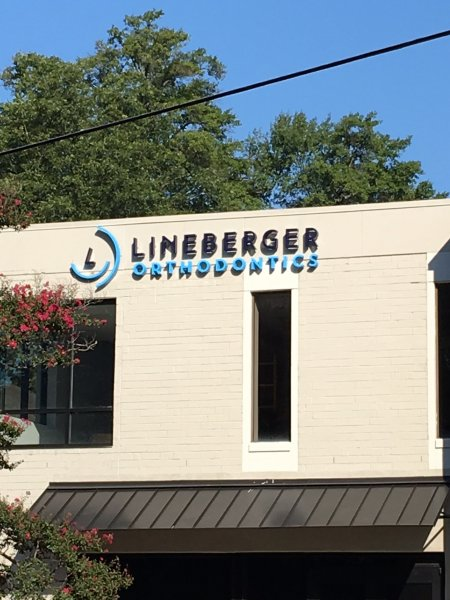 Lineberger Orthodontics Sign