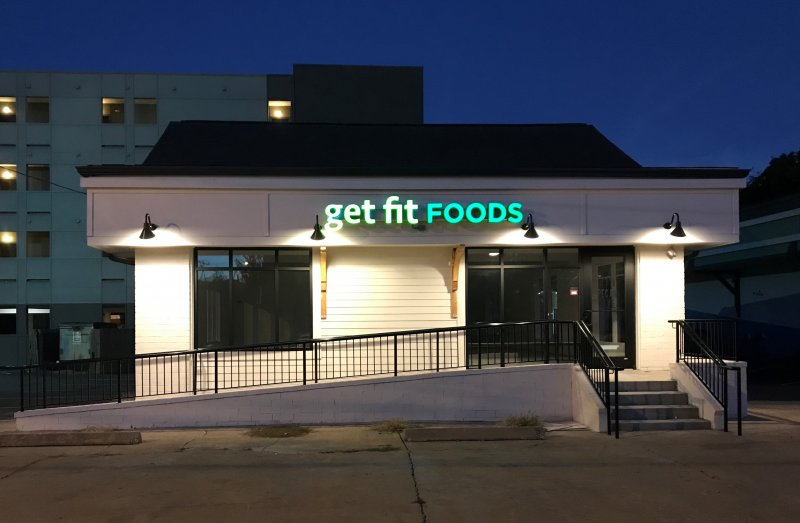 Get Fit Foods ~~ Channel Letter Sign