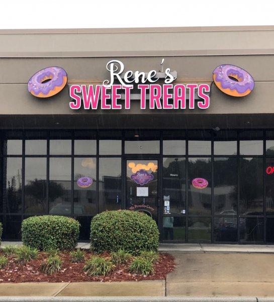 Rene's Sweet Treats – Channel Letter Sign