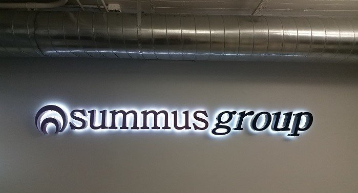 Summus Group - Interior Feature Wall Sign