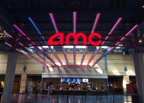 AMC Movie Theater Channel Letters and Neon Grid Work