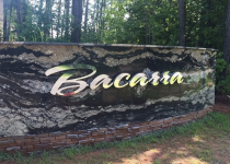 Bacarra Luxury Apartment - Indivdually Mounted Channel Letters