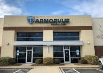 Channel Letter Sign for Armorvue of Charlotte