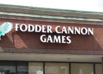 Fodder Cannon Games - Channel Letter / Logo Sign