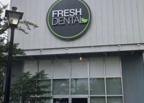 Fresh Dental - Round Logo Sign