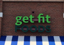 Get Fit Foods of Charlotte - Channel Letter Sign