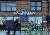 Valhalla Pub & Eatery of Charlotte - Channel Letters/Cabinet Sign Combination