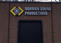 Norman Sound Productions Channel Letters