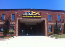 Custom Made PAC Racing Channel Letter Sign - Mooresville, NC