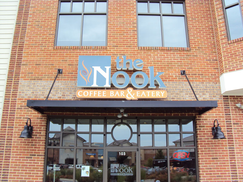 the Nook Coffee Shop Huntersville NC