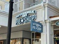 Buttermilk Sky Pie Shop - Channel Letter Sign