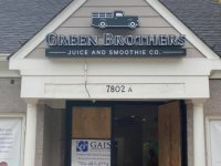 Channel Letter Sign for Green Brothers Juice of Charlotte
