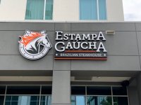 Estampa Gaucha of Charlotte - Custom Channel Letter Sign