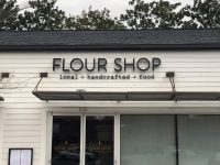 Flour Shop of Charlotte ~~ Halo Lit Channel Letter Sign