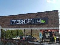 Fresh Dental - Wall Sign