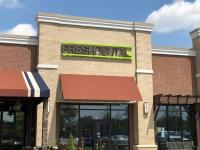 HALO LIT CHANNEL LETTER SIGN for Fresh Dental of Charlotte!