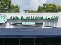 Channel Letter Sign for The Blossom Shop