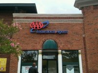 AAA Insurance Agent Sign