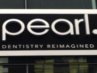 Pearl Dentistry in Uptown Charlotte - Exterior Sign