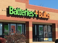 Channel Letter Sign for Batteries + Bulbs Store in Mooresville, NC 28117
