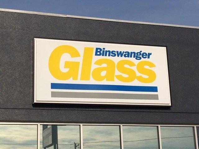 Binswanger Glass Exterior Signage