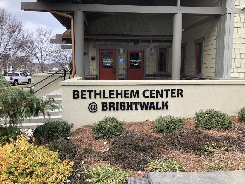 Bethlehem Center - Acrylic Letters