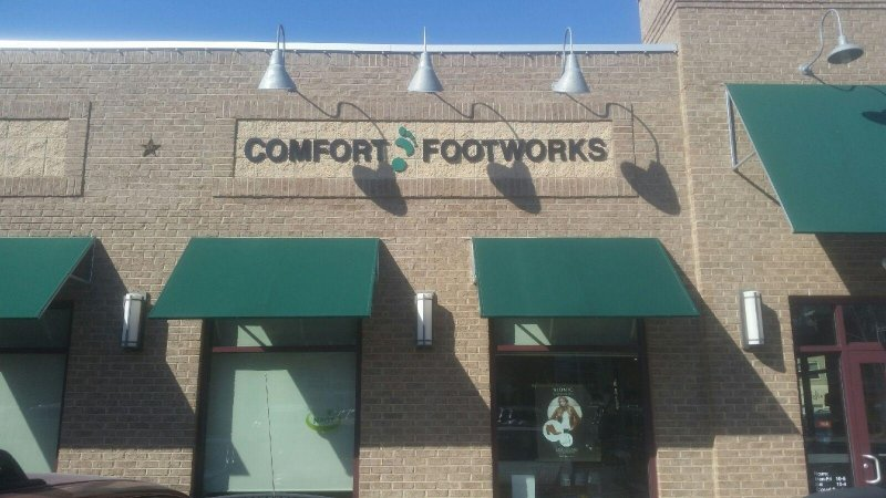 Comfort Footworks Exterior Sign