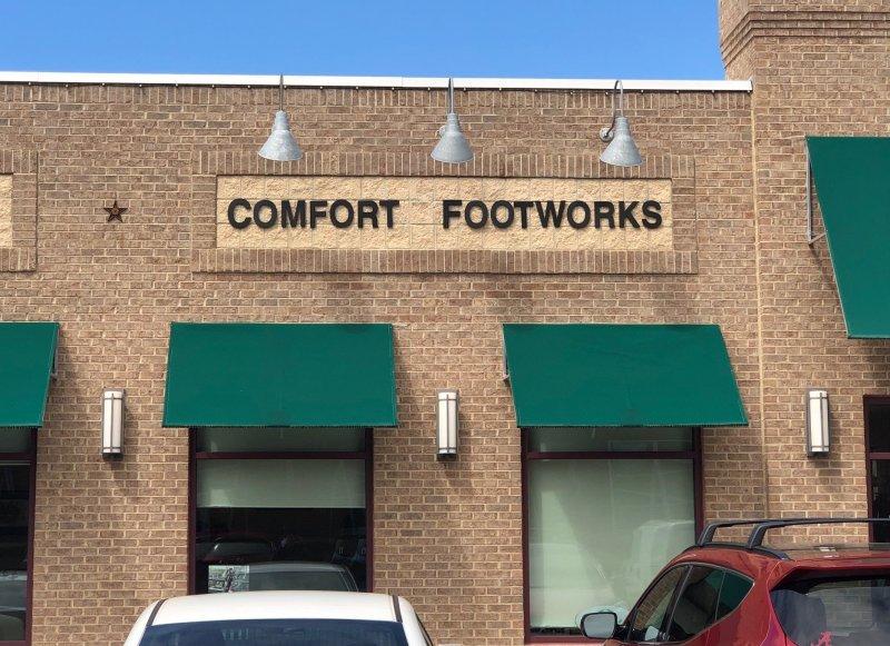 Comfort Footworks Sign