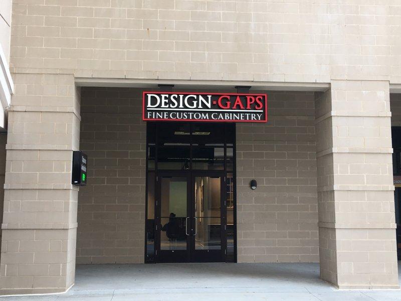 Design Gaps - Exterior Sign