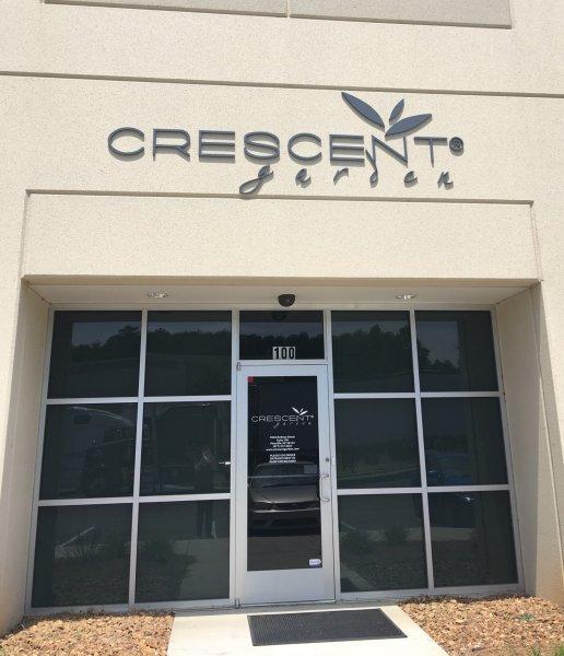 Exterior Sign Letters - Crescent Garden II