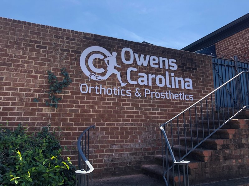 Exterior Wall Sign - Owens Carolina