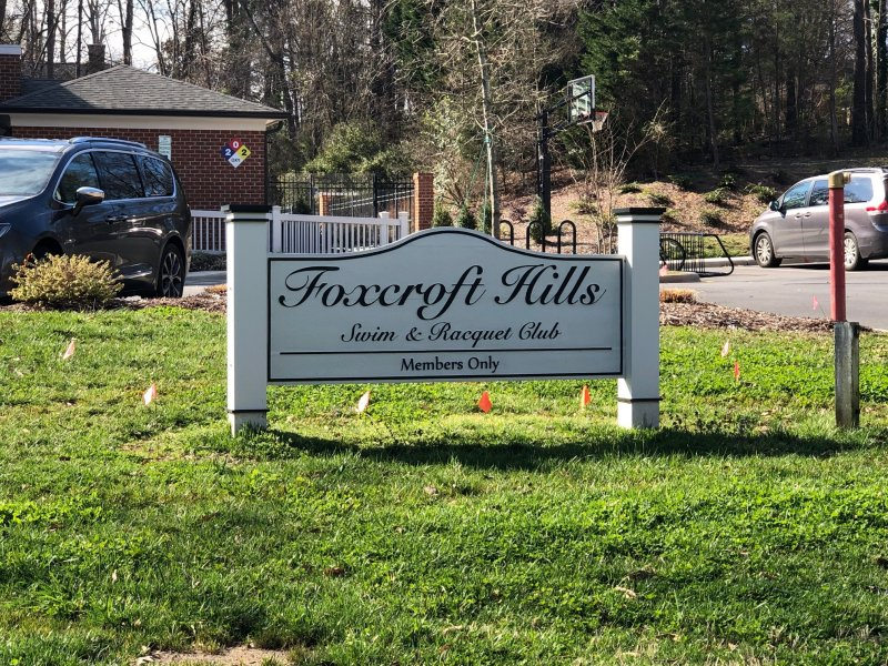 Foxcroft Hills Sign