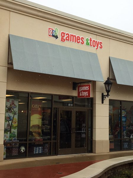 Go Games and Toys Exterior Signage - **Install Only**