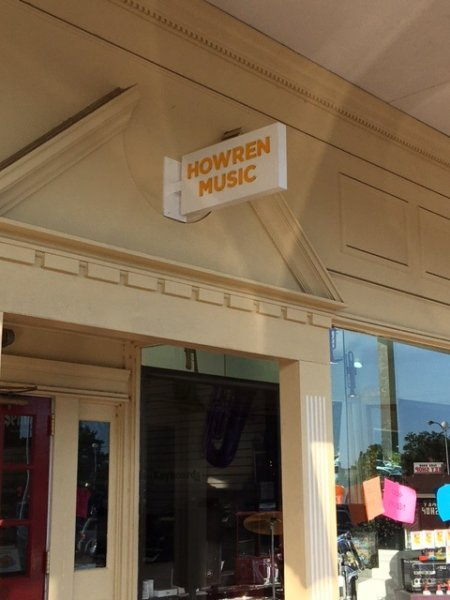 Howren Music Small Blade Sign