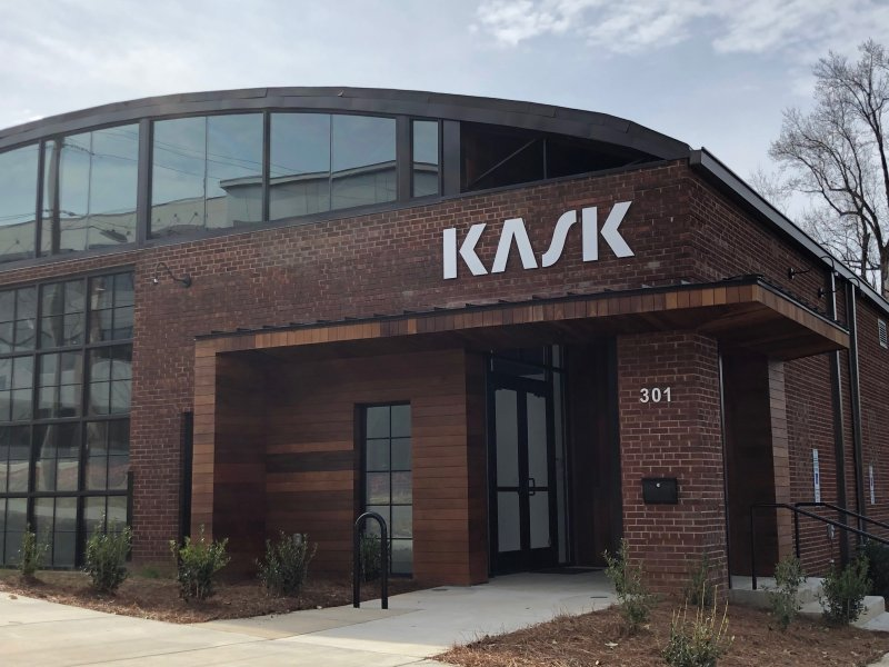 Kask - Exterior Building Sign