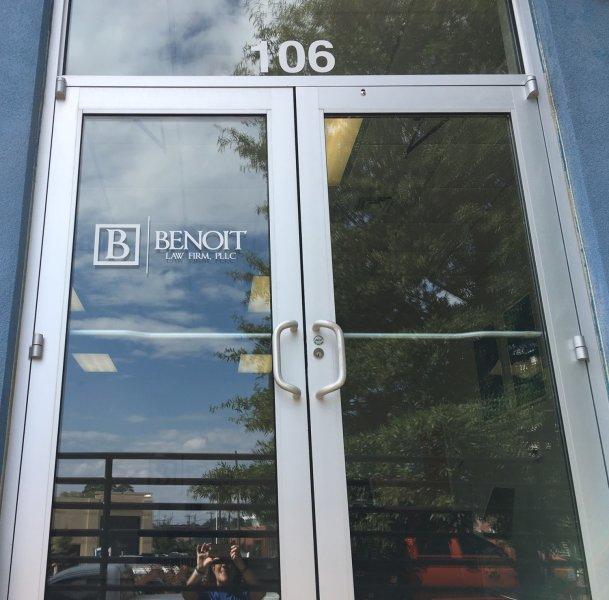 Logo and Address Numbers for Door - Vinyl