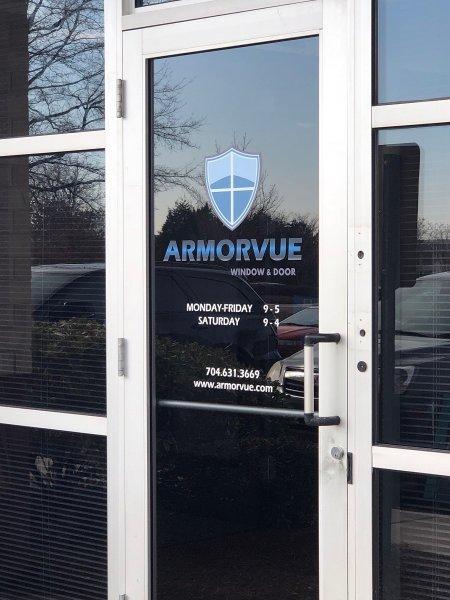 Armorvue of Charlotte - Logo for Doors!