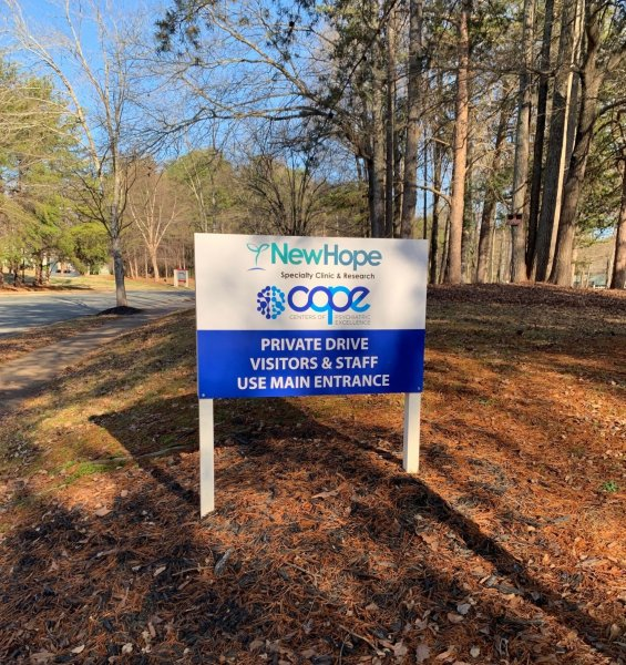 New Hope Clinic - Roadside/Directional Sign