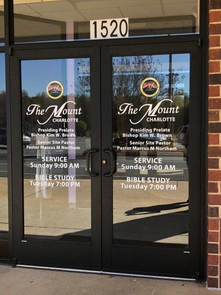 The Mount - Door Vinyl
