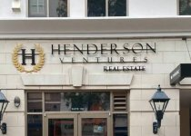 Custom Acrylic Letters and Logo Sign for Henderson Ventures