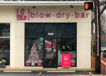 Blo Dry Bar - Exterior Wall Sign
