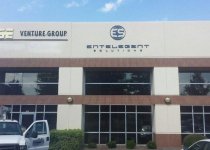 Entelegent Solutions - Exterior Signage (Center / Right in Photo)