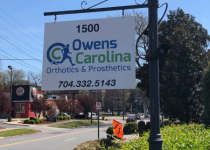 Owens Carolina - Streetside Signage