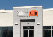 Select Auto of Charlotte - Exterior Signage