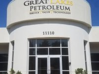 Building Sign for Great Lakes Petroleum of Charlotte