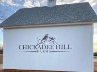 Aluminum Letters and Graphics Sign for Chickadee Hill Farms of Statesville, NC