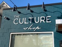 Acrylic Letters / Sign for The Culture Shop